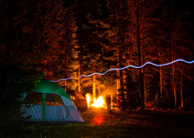 Camping Ghosts