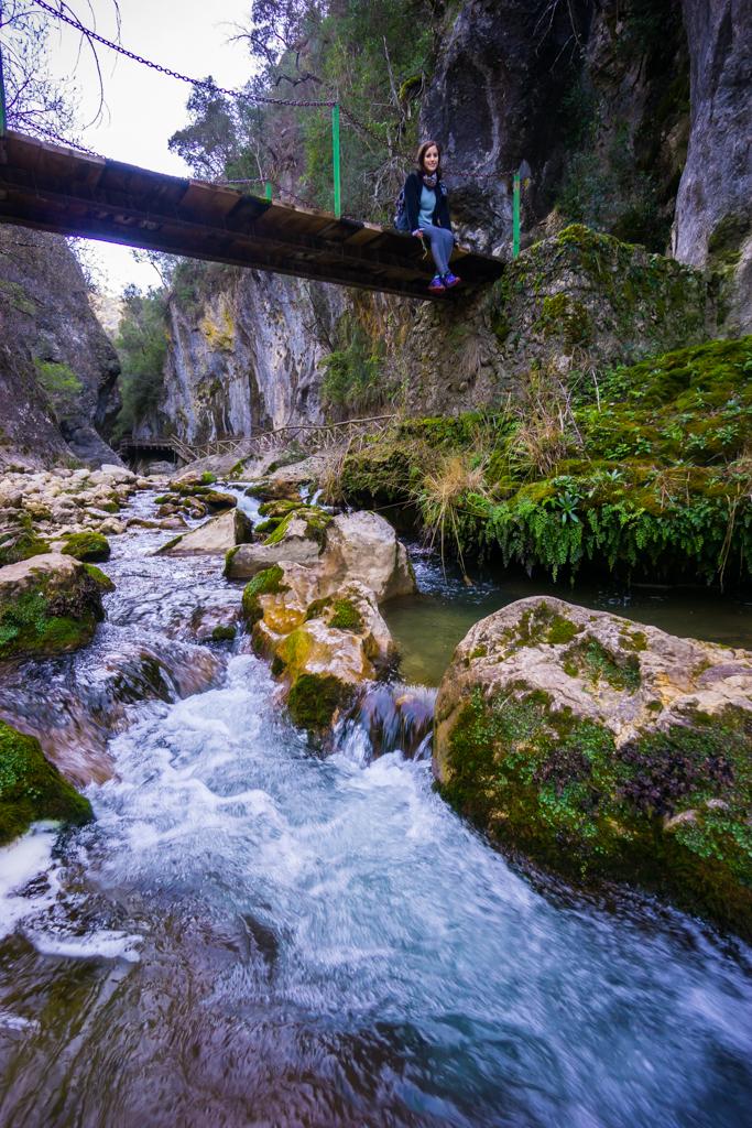 Maria Bridge Crossing Sierra de Cazorla