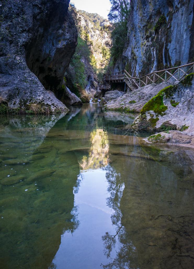 The Mirrors Pathway Sierra de Cazorla