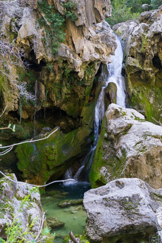 Hidden Waterfall Sierra de Cazorla