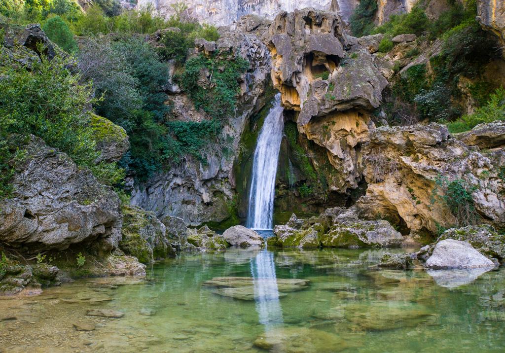 Waterfall Mirror Sierra de Cazorla