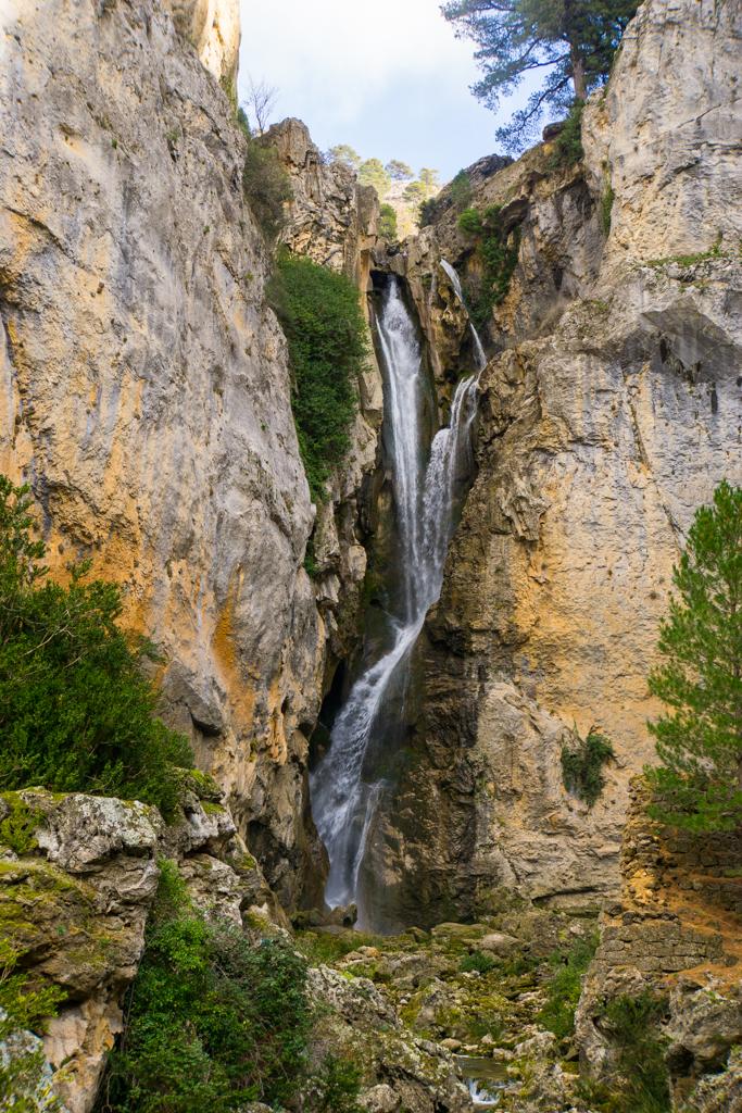 El Grande Waterfall Sierra de Cazorla