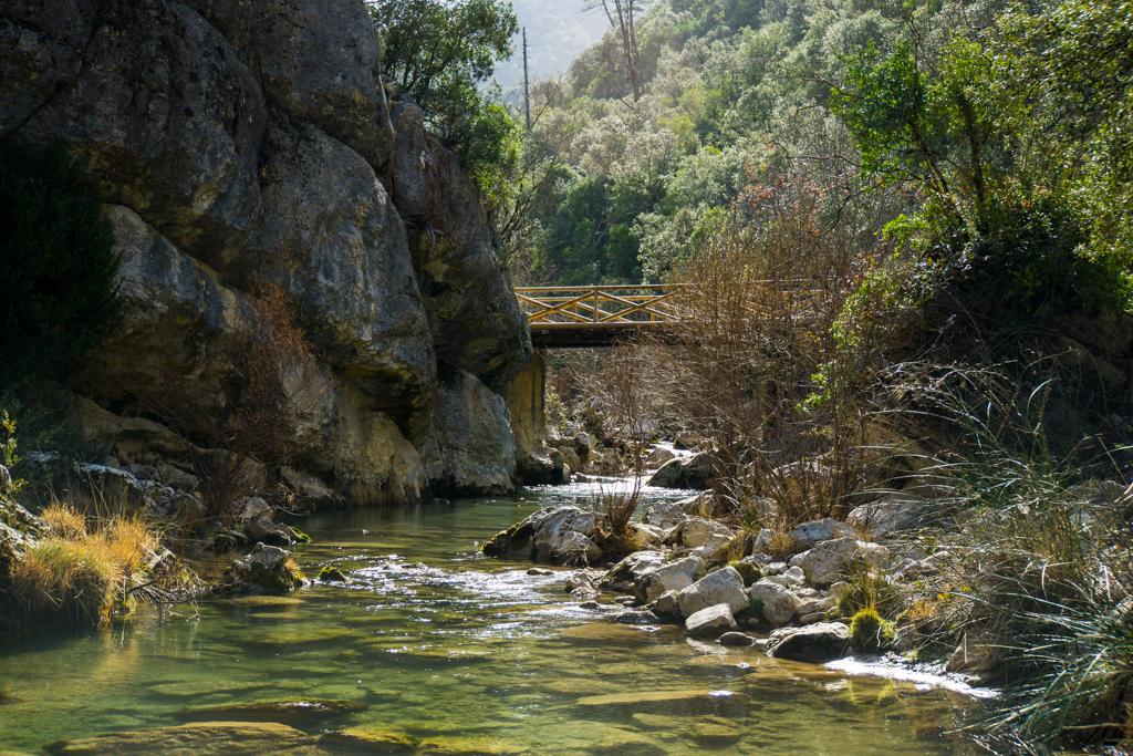 Bridge Crossing Sierra de Cazorla