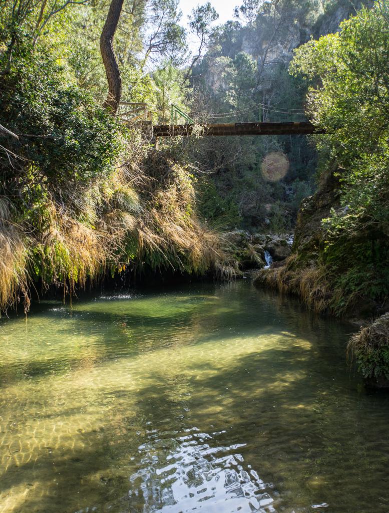 Second Bridge Crossing Sierra de Cazorla