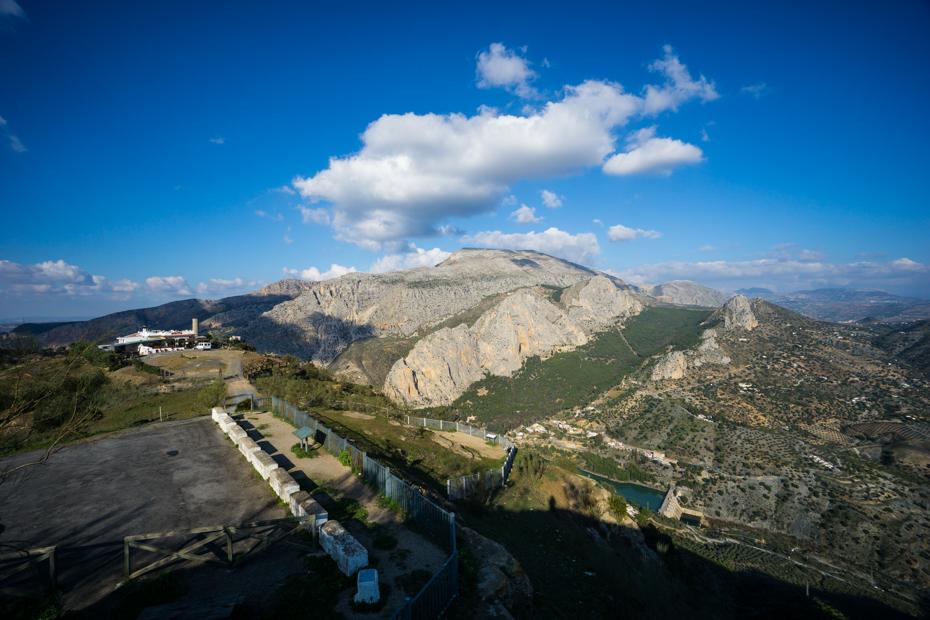 La Mesa Above Caminito Del Rey El Chorro