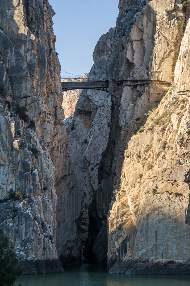 Exiting Few of the Caminito Del Rey El Chorro