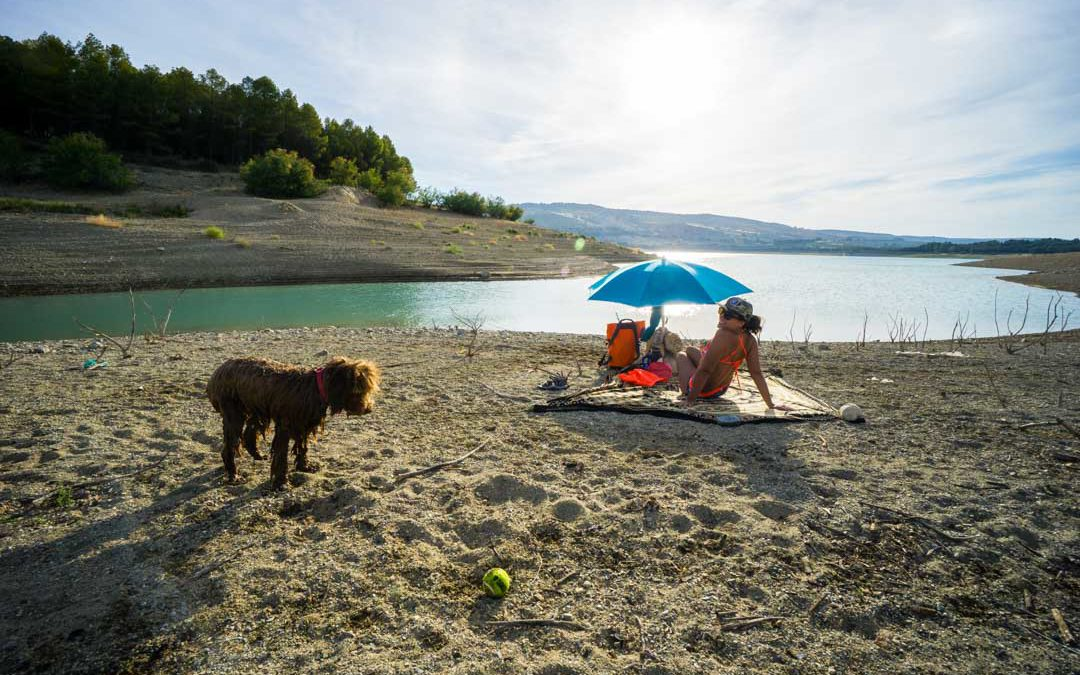 Camping & Kayaking At Los Bermejales Spain