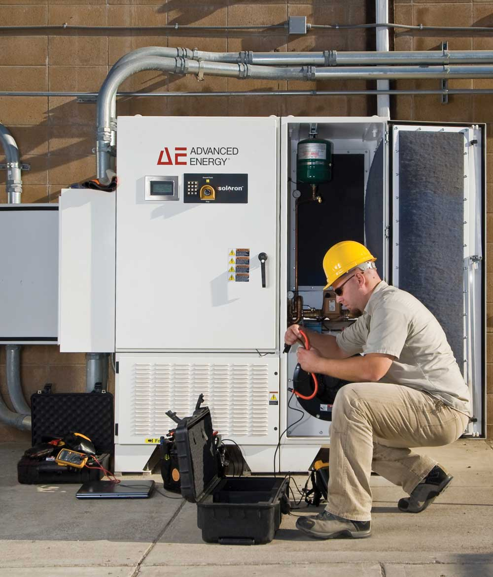 Advanced Energy Employee Testing Converter